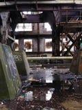 inside Market Street-Kraftwerk lizenzfreies stockbild
