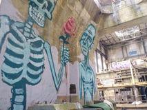 inside Market Street-Kraftwerk lizenzfreie stockfotos