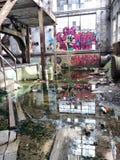 inside Market Street-Kraftwerk stockbilder