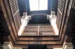 Inside the medersa Ben Youssef in Marrakesh, Morocco Stock Photo