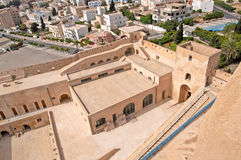 Inside mediaval fortress, Sousse, Tunisia Royalty Free Stock Photos
