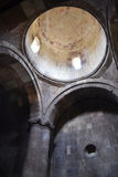 Inside medieval Armenian monastery Royalty Free Stock Images