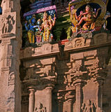 Inside of Meenakshi hindu temple in Madurai, India Stock Images
