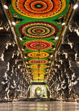 Inside of Meenakshi Temple Royalty Free Stock Photo