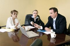 Inside the meeting Stock Photography