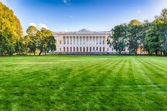 Inside Mikhailovsky Garden, idillic park in central St. Petersbu Stock Photography