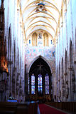 Inside the Minster of Ulm Royalty Free Stock Image