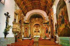 Inside Misericordia church, in Caminha Stock Photo