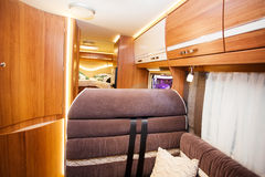 Inside of Modern Camper Royalty Free Stock Photography