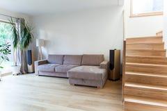 Inside modern house Stock Photo