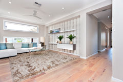 Inside of a modern living room Stock Photography