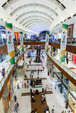 Inside modern luxuty mall in Dubai Stock Image