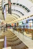 Inside modern luxuty mall in Dubai Stock Photography