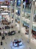 Inside modern luxuty mall in Dubai Stock Images