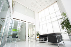 Inside of modern office Stock Photo