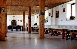 Inside a monastery Royalty Free Stock Photos