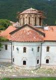 Inside the monastery Bachkovski in Bulgaria stock photos
