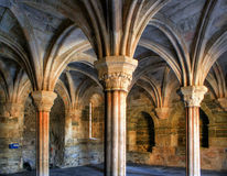 Inside monastery of Carracedo on Bierzo Royalty Free Stock Photography
