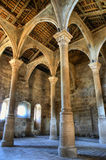Inside monastery of Carracedo on Bierzo Stock Images
