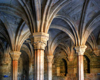 Inside monastery of Carracedo on Bierzo Royalty Free Stock Images