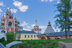 Inside the monastery Stock Photo