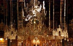 Inside the monastery of St. John of Rila Royalty Free Stock Image