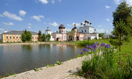 Inside monastery Royalty Free Stock Images