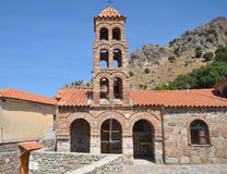 Inside of Moni Pithari monastery,Lesbos Royalty Free Stock Photo