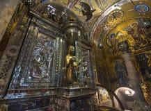 Inside Montserrat Abbey Royalty Free Stock Photo