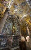 Inside Montserrat Abbey Royalty Free Stock Photos