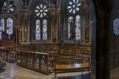 Inside Montserrat Abbey Stock Images