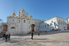 Inside Moscow Kremlin Stock Photo
