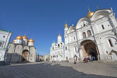 Inside Moscow Kremlin Royalty Free Stock Photos