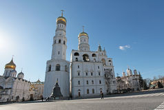Inside Moscow Kremlin Stock Images