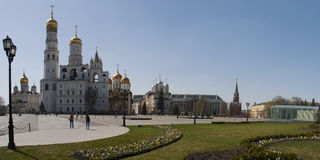 Inside the Moscow Kremlin, Moscow, Russian federal city, Russian Federation, Russia Royalty Free Stock Photo