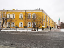 Inside Moscow Kremlin. Royalty Free Stock Images