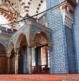 Inside the Mosque Royalty Free Stock Photos
