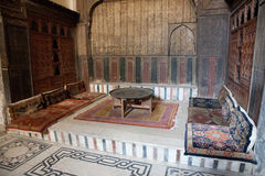 Inside a Mosque. Mosque in Cario's Islamic District stock photos