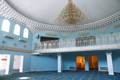 Inside of a mosque royalty free stock photos