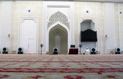 Inside Mosque Royalty Free Stock Images