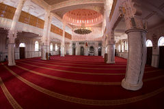 Inside mosque Stock Images