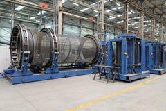 Municipal machinery facility stock photos