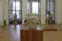 Inside museum, paris france royalty free stock image