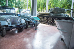 Inside The Museum of the Revolution in Havana, Cuba. Royalty Free Stock Image