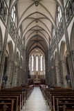 Inside the Myeongdong Cathedral in Seoul Royalty Free Stock Photos