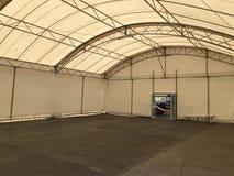 Inside namiot Zdjęcie Stock