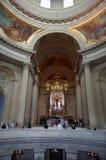 Inside Napoleon's Domed Tomb in Paris Stock Photo