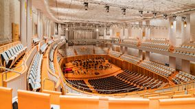 Inside of National Centre for the Performing Arts Royalty Free Stock Image