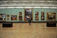 Inside national gallery muzeum w Londyn, Anglia Obrazy Stock