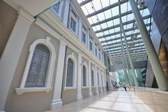 Inside the National Museum of Singapore Royalty Free Stock Image